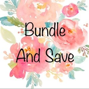 Bundle and save on more than 1 item
